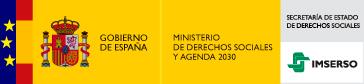 Logo Ministerio de Derechos sociales y Agenda 2030, Imserso