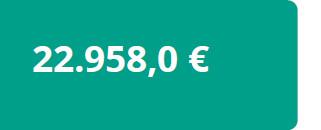 22.958,0€ media sin discapacidad
