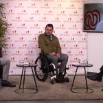 Miguel Carrasco, Fran Sardón y González Huesa en el plató y Jesús Hernández, online.