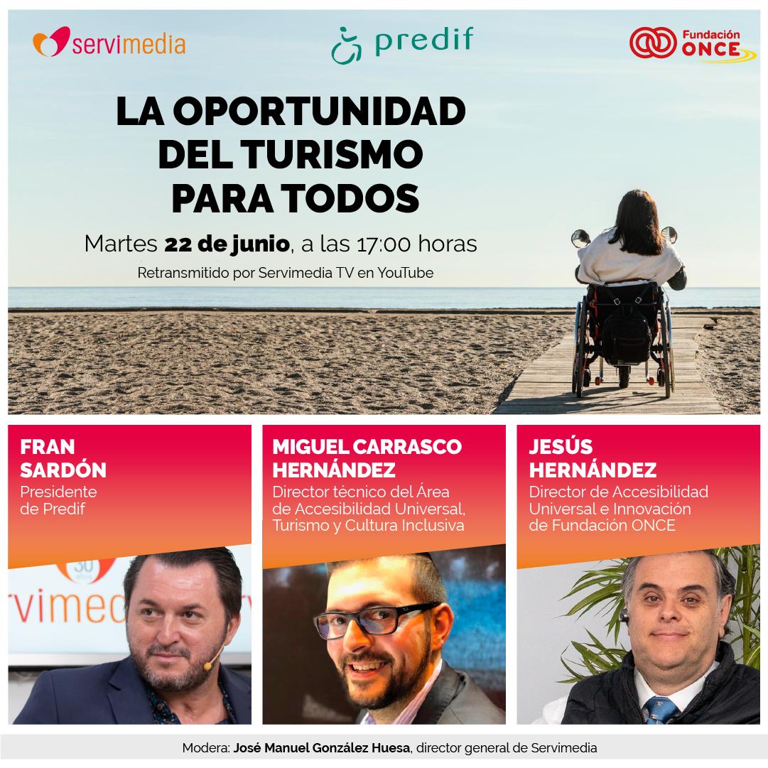 Cartel del diálogo La oportunidad del turismo