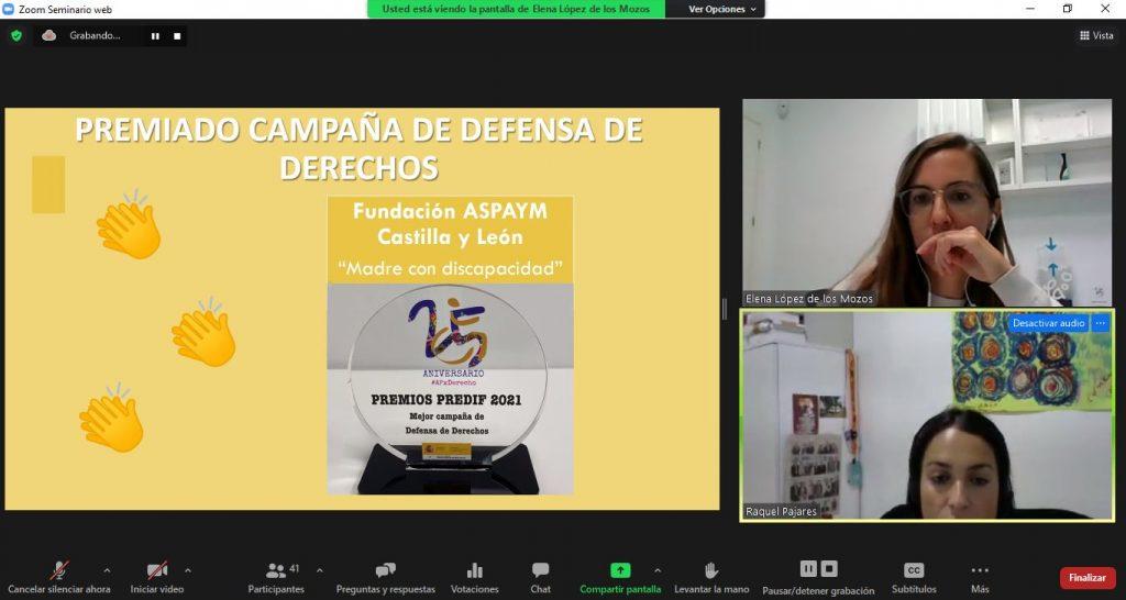 Premio Campaña de defensa de derechos
