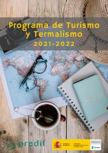 Portada del Programa de Turismo y Termalismo 2021-2022